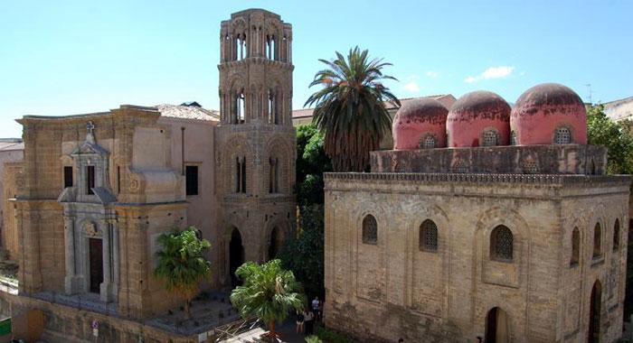 Chiesa Santa  Maria dell'Ammiraglio (detta Martorana)