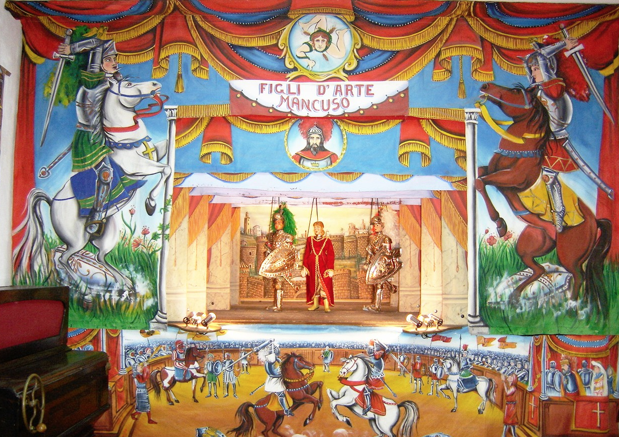 Immagine Teatro dei Pupi