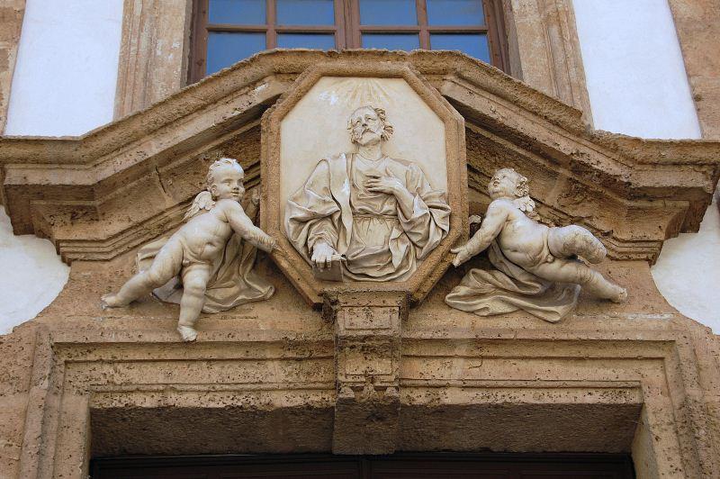 Chiesa San Mattia dettaglio portale