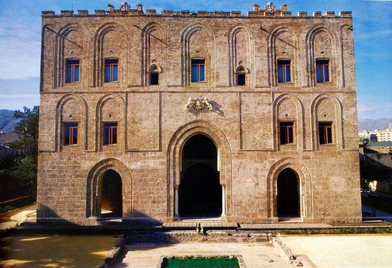 Castello della zisa Poster