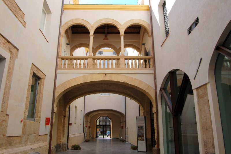 Immagine cortile interno