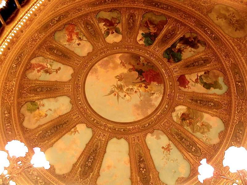 affreschi soffitto
