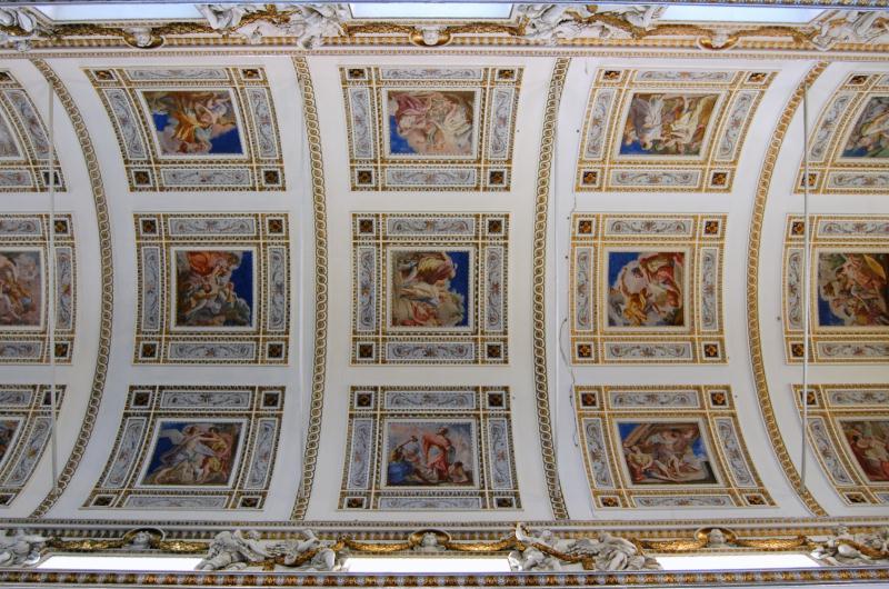 Immagine affreschi soffitto