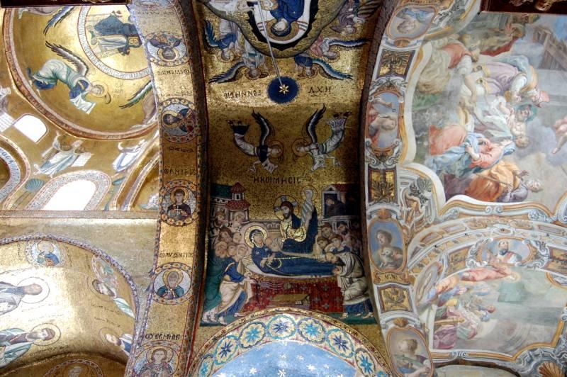 Immagine mosaici e affreschi