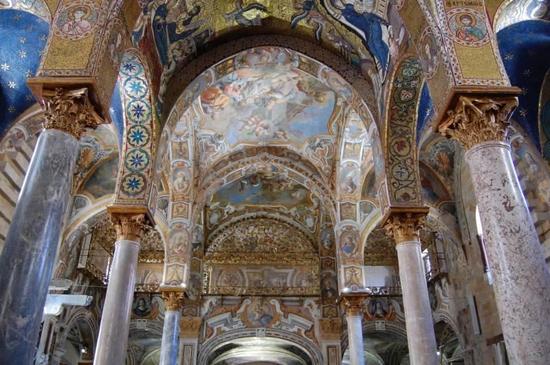 Immagine navata centrale posteriore