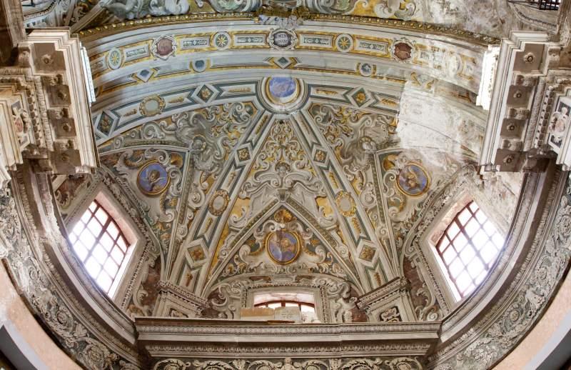 affreschi soffitto 2