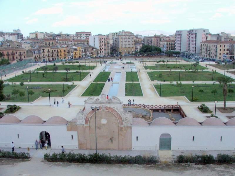 Immagine giardini visti dall'alto