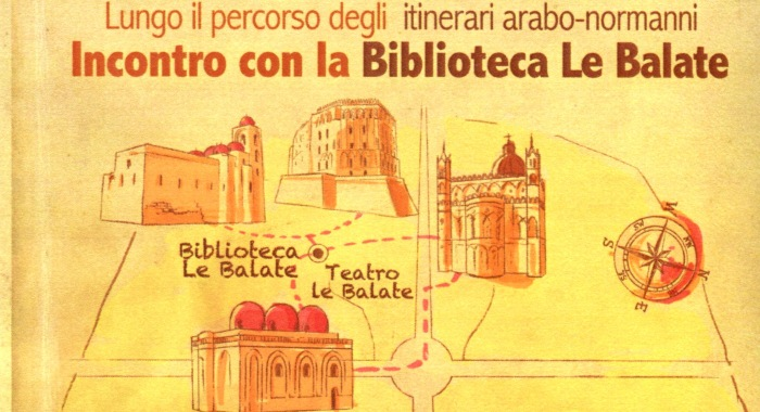 Incontro con la Biblioteca delle Balate e Travellers in winter theater