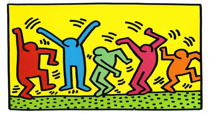 Keith Haring - Party of Life